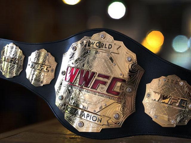 Пояс чемпиона World Warriors Fighting Championship - чемпионский пояс по смешанным боевым искусствам (ММА)
