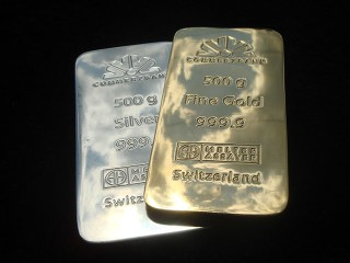 """dummies of gold """"Commerzbank"""""""