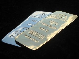 """муляжи слитков золота """"Commerzbank"""""""