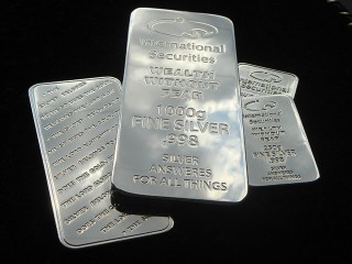 dummies of International-Securities bullion