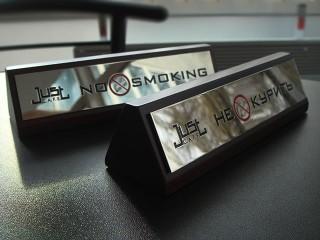 табличка на стол информационная не курить
