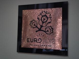 "табличка металлическая на акриле ""Евро 2012"""